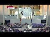 Будут ли немцы сотрудничать с укро-наци и согласятся ли потерять 300 тыс рабочих? (Первый HD, «Время», 13-03-2014)